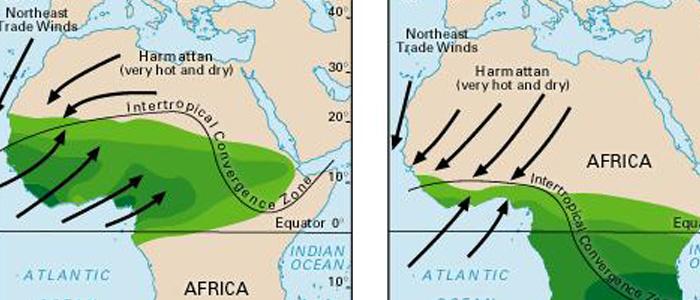Harmattan Map