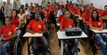 Disability training in Brazil