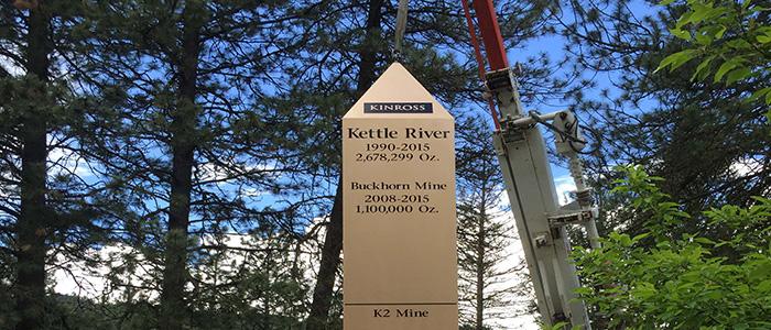 Kettle River-Buckhorn unveils monument